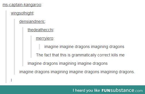 imagine doesn't look like a real word anymore