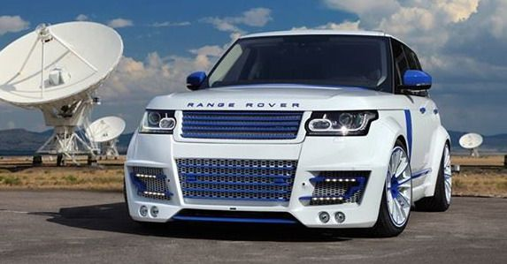 AutoBlog | Lumma Range Rover CLR R