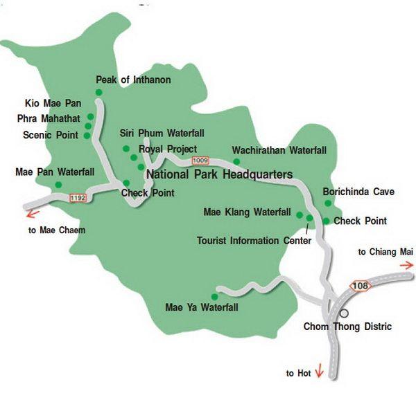 doi inthanon national park, doi inthanon, inthanon