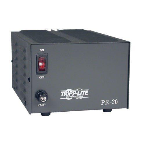 Tripp Lite PR20 DC Power Supply 20A 120V AC Input to 13.8V DC Output TAA GSA
