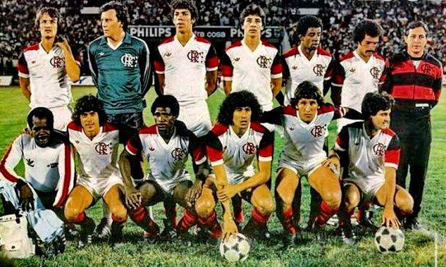 FLAMENGO Campeón de la Copa Libertadores 1981