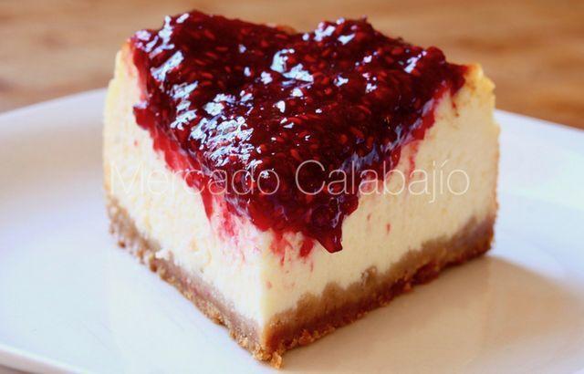 New York Cheesecake La Clásica Receta Americana Mercado Calabajío Bloglovin Dulces Caseros Cheesecake Dulces