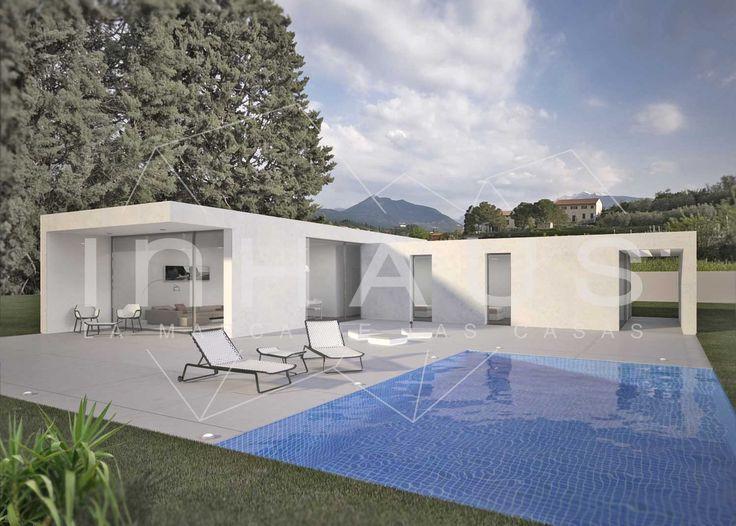 M s de 25 ideas fant sticas sobre casas prefabricadas - Piscinas prefabricadas de hormigon ...