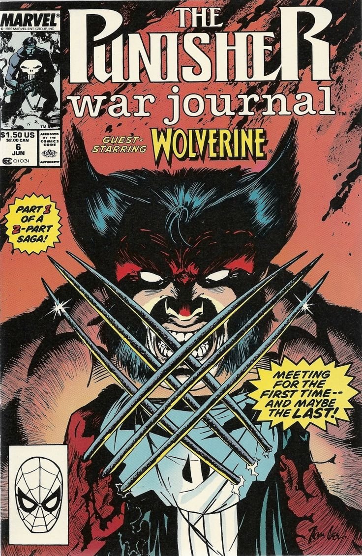 awesome wolverine comic book covers