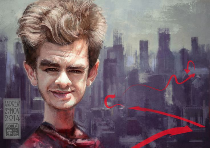 Andrew Garfield  the way to Aunt May!