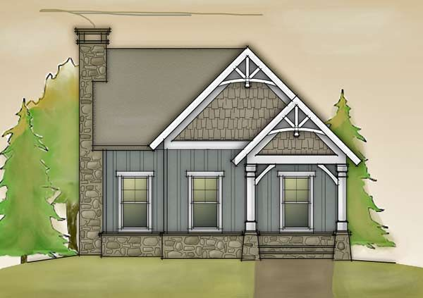 Small Cottage Designs: Small Cottage Floor Plan With Loft