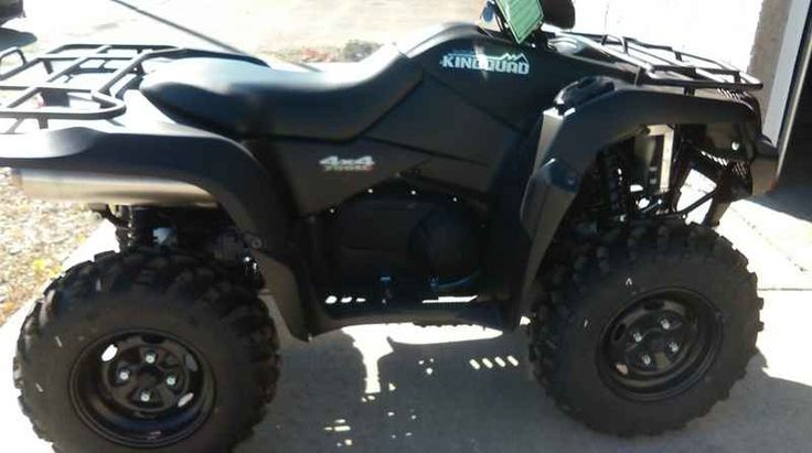 New 2016 Suzuki KingQuad 750AXi Power Steering Special E ATVs For Sale in Illinois. 2016 Suzuki KingQuad 750AXi Power Steering Special Edition, 2016 Suzuki KingQuad 750AXi Power Steering Special Edition Trusted. Rugged. Realiable. Three decades of ATV manufacturing experience has led to the KingQuad 750 AXi Power Steering Limited Edition, Suzuki s most powerful and technologically advanced ATV. Abundant torque developed by the 722cc fuel-injected engine gives the KingQuad the get up and go…