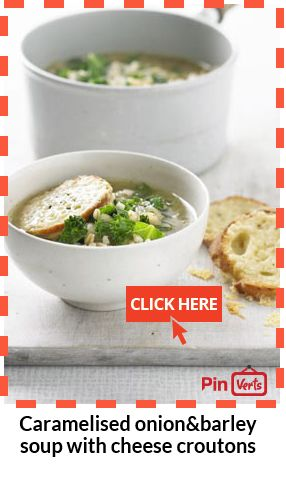 & barley soup with cheese croutons... Nutty and nutritious barley ...