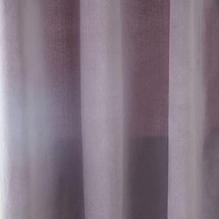 VELVET COTTON CURTAIN - Curtains - Bedroom   Zara Home United Kingdom