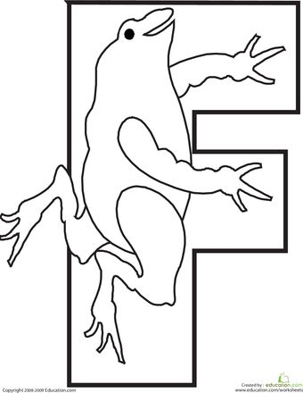 Letter F Coloring Pictures : Best 20 letter f ideas on pinterest craft e
