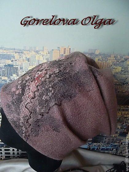 Купить или заказать шапка валяная 'Парижские улочки' в интернет-магазине на Ярмарке Мастеров. Шапка из итальянского мериноса. Свободная форма шапочки позволяет носить её с любой верхней одеждой, а также в любой сезон!!! Шапка очень красивая по цвету, она покрыта шёлковым волокном, непсами, рами и натуральным цветным шёлком. Край валяной шапки обработан трикотажем. ПОДПИСКА НА НОВОСТИ Хотите первыми узнавать о моих новых работах акциях и скидках?