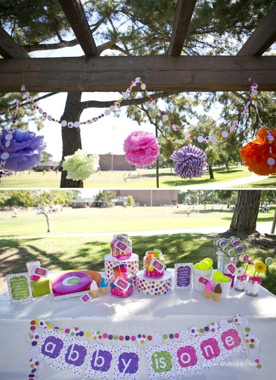 Decorating Ideas > New Party Release Polka Dots Party  Parks, Cake Photos  ~ 211929_Birthday Party Ideas Park