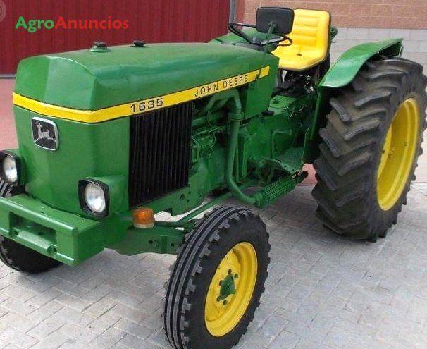Venta de Tractor agrícola John Deere 1635 en Castellón