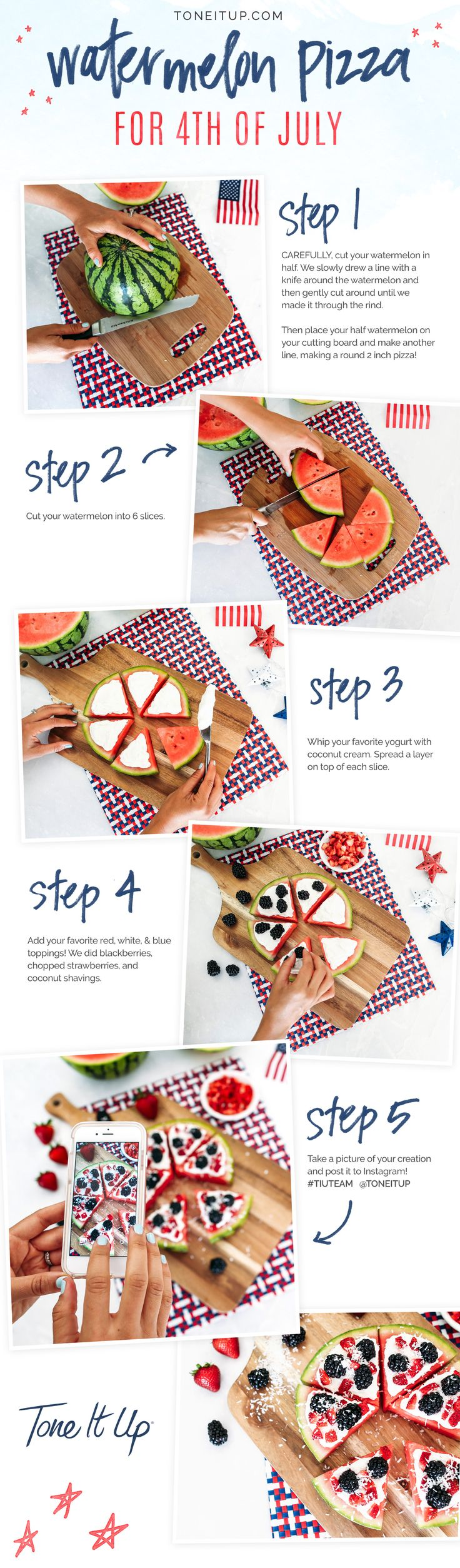Fourth of July healthy treats!