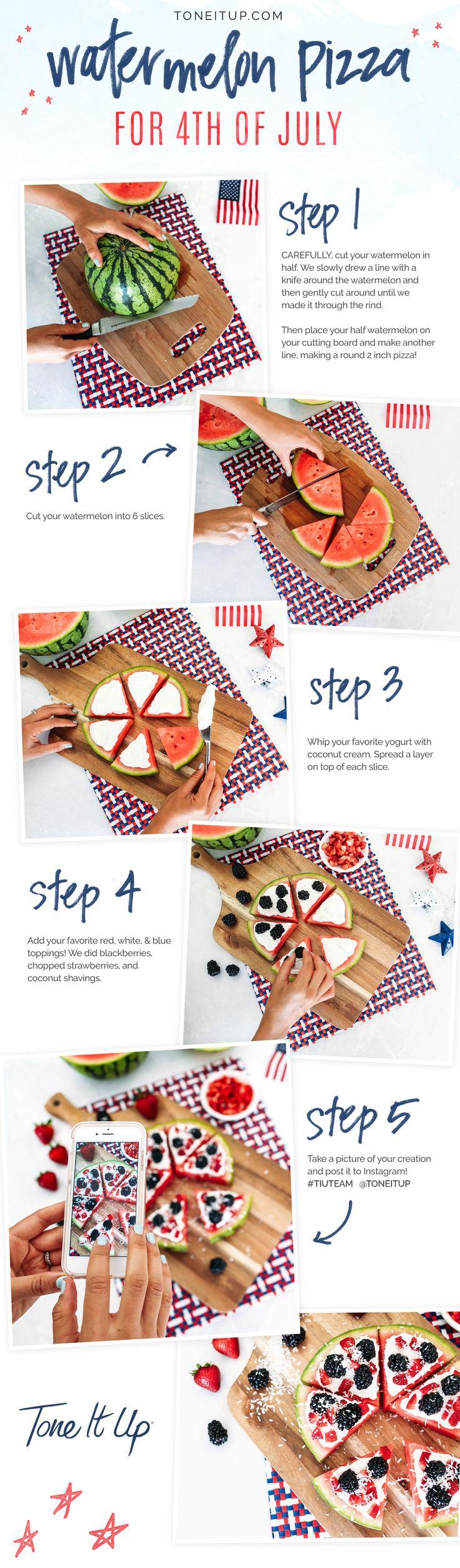 Fourth of July healthy treats!