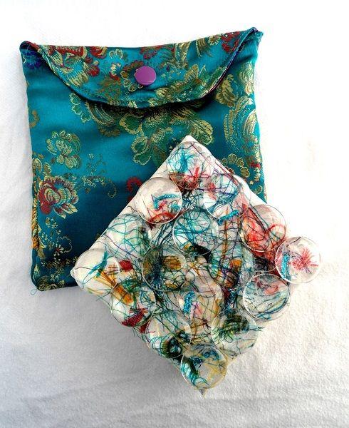 Kunstversteck, Taschen-Kunst, fette Beute Leinwand von KunstKaufRauschArtig auf DaWanda.com