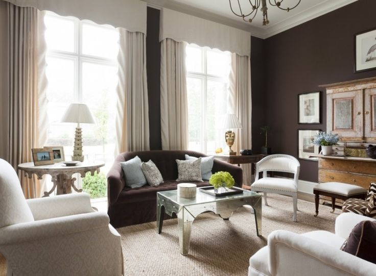 les 25 meilleures id es concernant murs marron sur pinterest peinture marron peinture grise. Black Bedroom Furniture Sets. Home Design Ideas