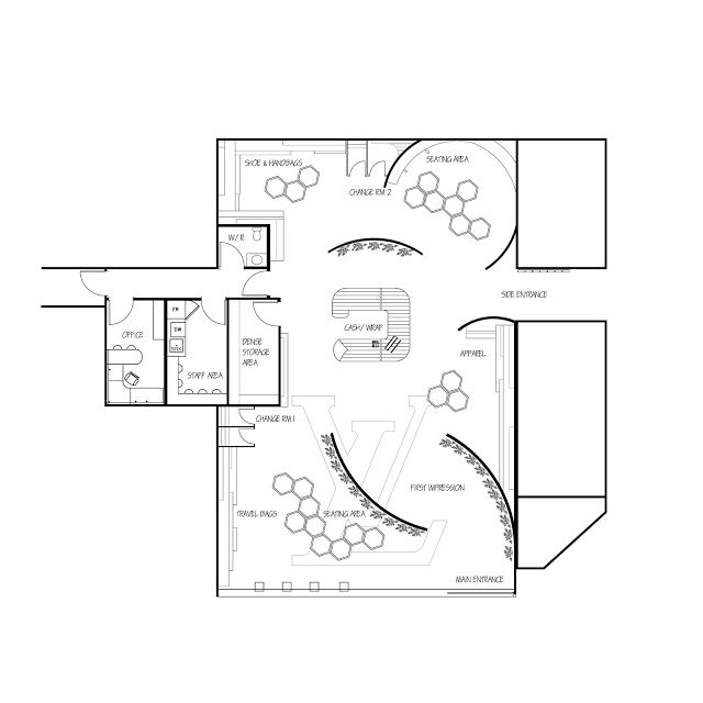 12 best retail floor plans images on pinterest