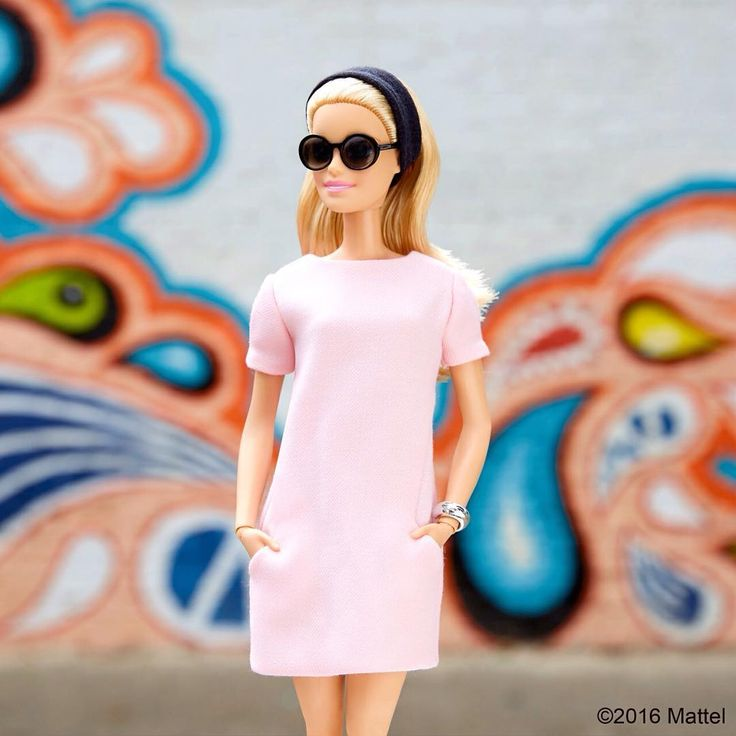 Your favorite color is always in style! #barbie #barbiestyle