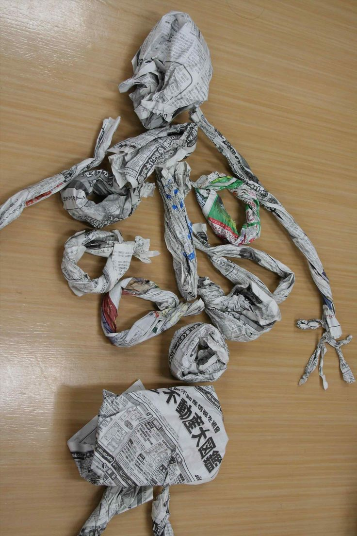 Craft Ideas For Kids Ye Using That Is Being Recycled U Of Them Newspaper