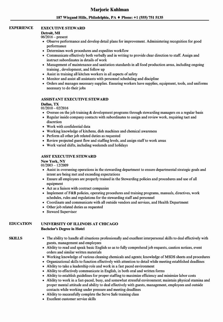 Kitchen Manager Job Description Resume Luxury Executive