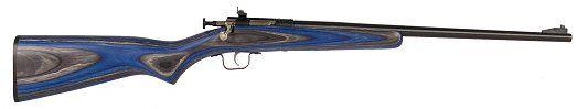 """Sky Guns International   Crickett Bolt 22 Long Rifle 16.12"""" Blue Laminate Blue"""