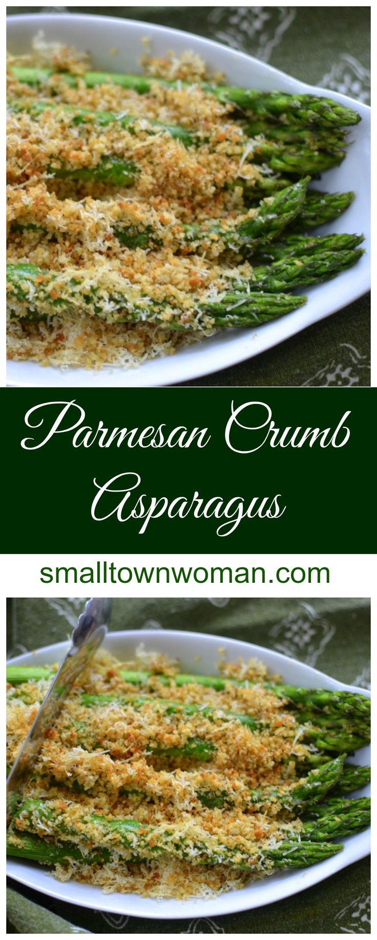 This Parmesan Crumb Asparagus recipe is so delectable.  There are so many terrific health benefits to asparagus!