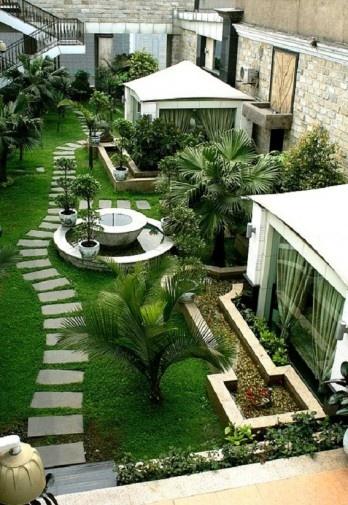 Beautiful Roof Garden Design