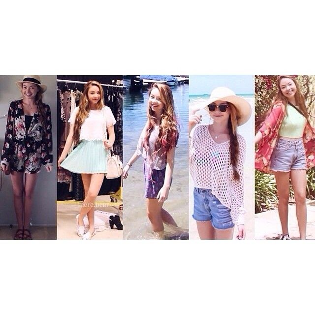 New video on StilaBabe09! Outfits of the Week 💋 Link to watch is in my bio! Thanks @mere.bear for this edit 😘 Which outfit was your fav?! 1, 2, 3, 4, or 5?