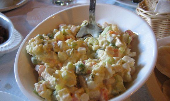 russian potato salad | salads and veggies | Pinterest