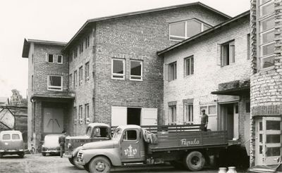 Kouvolan Lakritsi factory in the beginning of the 1960's. Liquorice is still made in the same premises and according to the same recipes.