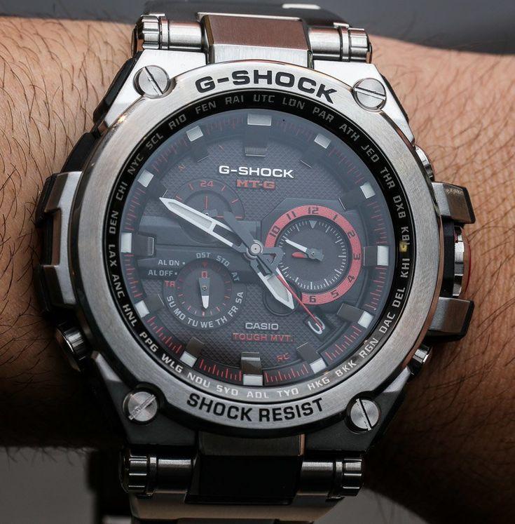 Casio G-Shock MT-G MTG-S1000 $1,000 Metal Watches Hands-On