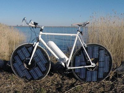 No charging required for Solar bike
