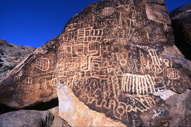 grapevine canyon petroglyphs, lake mead national recreation area, clark county, nevada 1 by Alan Cressler, via Flickr