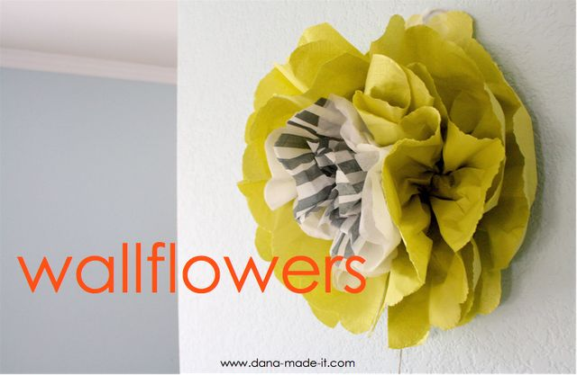 Paper flowers for wedding showers :): Paper Napkins, Diy Art, Tissue Paper Flowers, Art Flowers, Flowers Ideas, Wall Flowers, Tissue Flowers, Girls Rooms, Flowers Tutorials