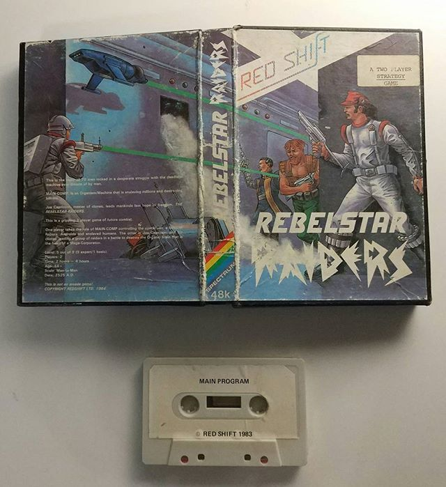 """Sinclair ZX Spectrum: Rebelstar Raiders  Julian Gollop is deservedly well known by its great saga X-Com.  However he's start was way before. Even before some computers like Spectrum did even exist.  Here you are what I think was his first """"commercial"""" game for a famous computer: Rebelstar Raiders. As you can see the cover art and the cassette were a bit low cost. However the idea behind was in the same basis as the X-Com franchise.  The history behind all these games is very interesting. I'd…"""