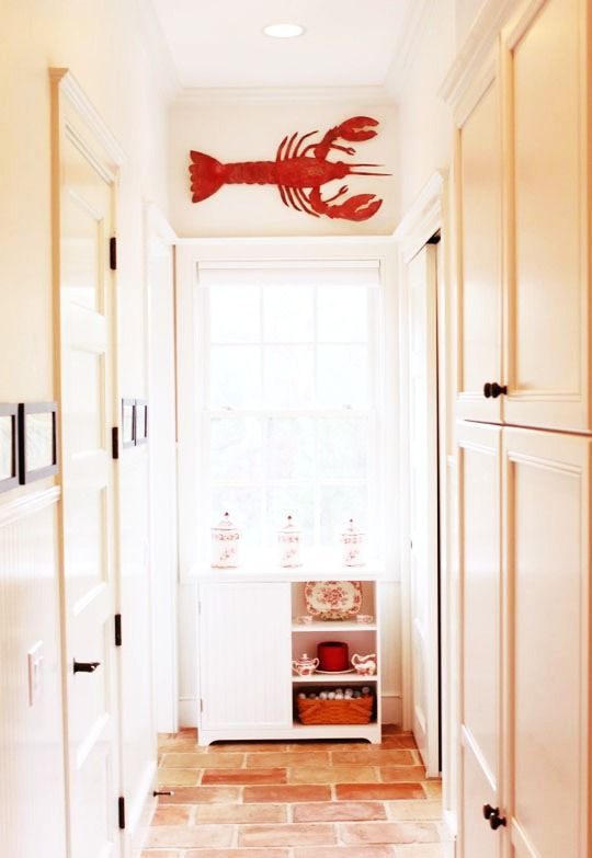 Amazing Lobster Art For Decorating A Coastal Home. #IronFishArt Http://www.
