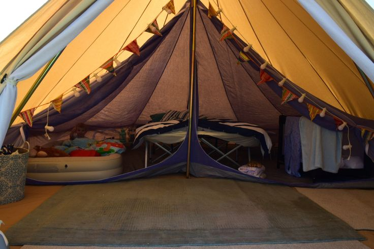 Dying a bell tent inner has got to be one of the simplest and most affordable ways of beautifying your beloved canvas structure.  Not only that, but it's functional too, providing a little ch…