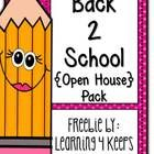 This freebie is a perfect addition to your Open House or Meet the Teacher night. It includes the following:  ~Sign-In Welcome Sign ~Welcome Sign ~T...