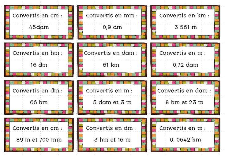 Jeu pour réviser les conversions de longueur