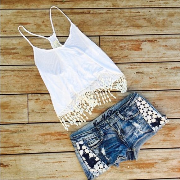 Sumer Country Concert Outfit Bundle Both included! Both from PacSun. Top is a small and shorts are a five. Great condition. No stains or rips. Ships Immediately! PacSun Tops Tank Tops