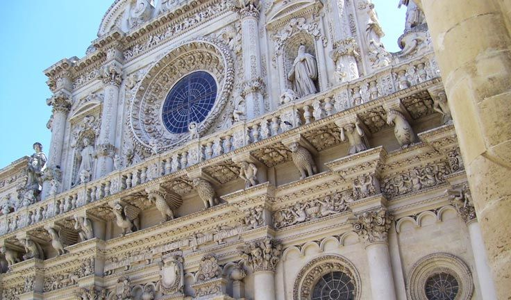 Lecce is the most important Baroque city worldwide, with a stunning historical center.