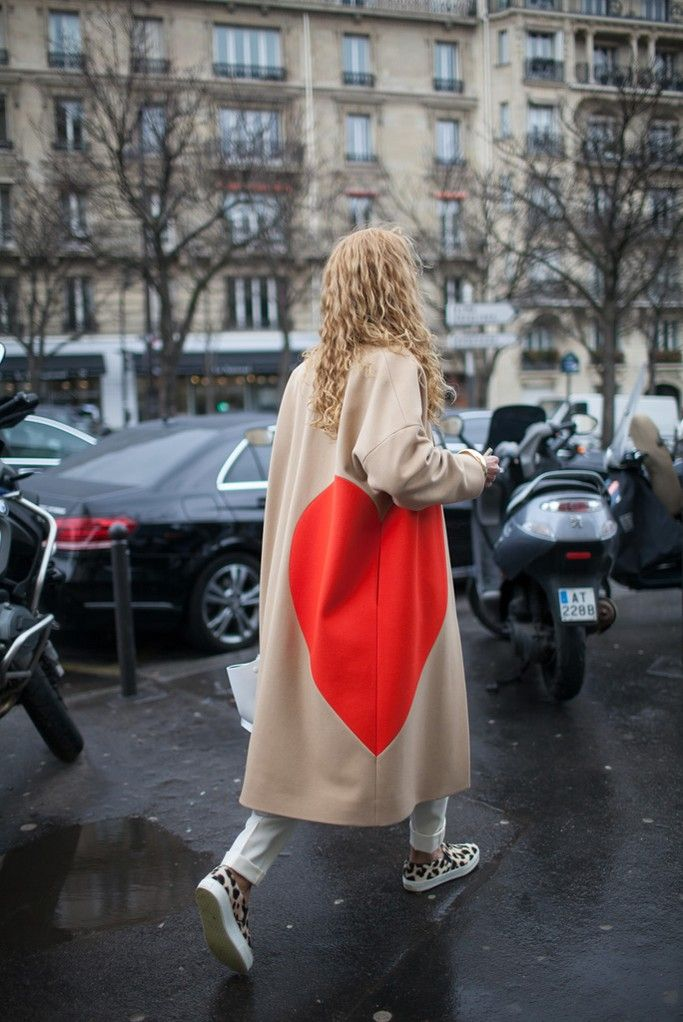 On the streets of Paris.