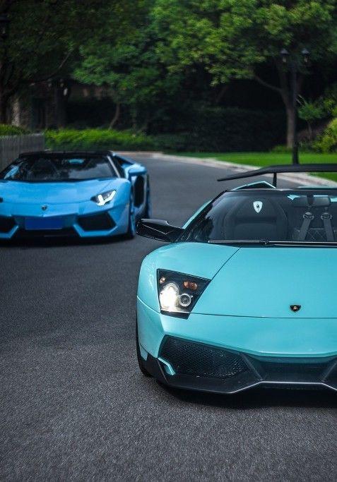 Lamborghini Murcielago SV and Aventador
