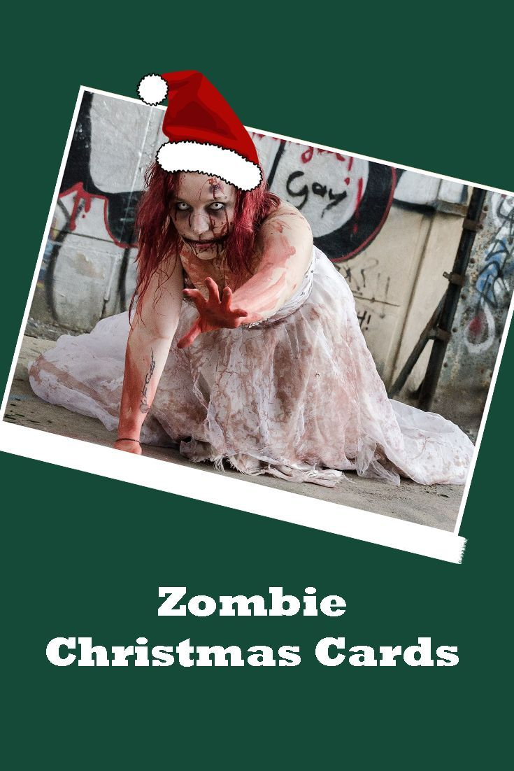 Zombie Inspired Christmas Cards