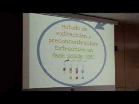 DETERMINACIÓN DE QUINCE COMPUESTOS HORMONALES EN AGUAS DEPURADAS USANDO EXTRACCIÓN EN FASE SÓLIDA COMBINADA CON CROMATOGRAFÍA LÍQUIDA DE ULTRA RESOLUCIÓN CON DETECCIÓN DE ESPECTROMETRÍA DE MASAS (SPE-UHPLC-MS/MS). Defensa de la acreditación de la Etapa de Investigación de Rayco Iván Guedes Alonso; dirigida por José Juan Santana Rodríguez y Zoraida Sosa Ferrera. Acto celebrado en la Sala de grado de la Facultad de Ciencias del Mar el martes 16 de julio de 2013