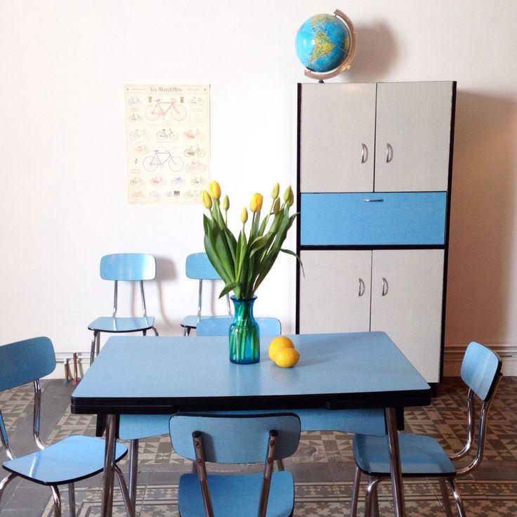 Las 25 mejores ideas sobre mesa de formica en pinterest y m s mesas de cocina de poca mesas - Sillas formica ...