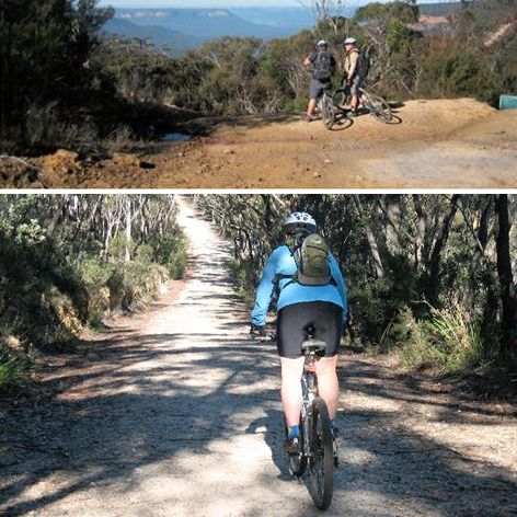 Join us on a guided mountain biking ride to Narrow Neck near Katoomba in the Blue Mountains, a Plateau that stretches out into the wilderness dividing the Jamison and Megalong Valleys.