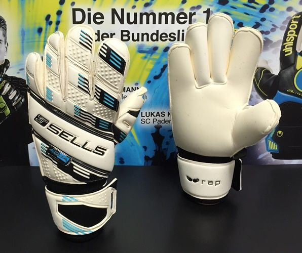 SELLS :: SELLS GOALKEEPER GLOVES 2015/2016 :: SELLS WRAP ELITE AQUA (ROLL FINGER) - Goalkeepers Online Shop Pro Keepers Line