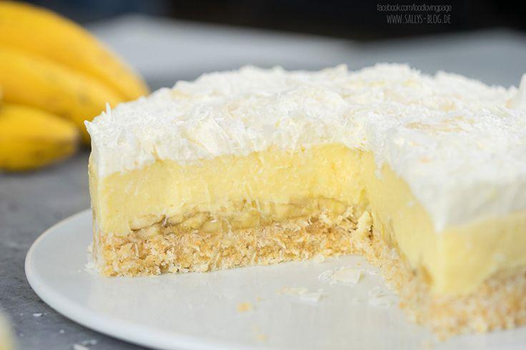 Kokos-Bananen-Kuchen ohne Backen / Coconut Banana Dream Cake